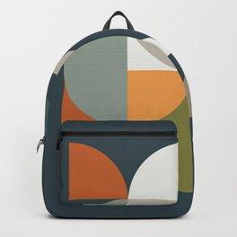 Mid Century Geometric 12/2 Backpack