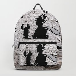 The little prince and the fox - stencil for the LIFE CURRENT WALL series Backpack