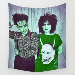 Siouxsie Found Her Banshee Cure Wall Tapestry