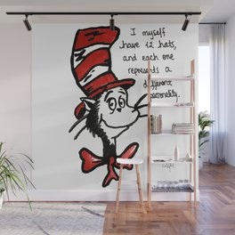 The Cat In The Hat Wall Mural