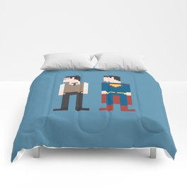 Man of Steel 8-Bit Comforters