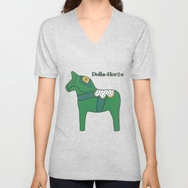 Dolla-Horse Unisex V-Neck