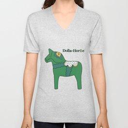 Dolla-Horse Unisex V-Neck