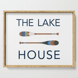 The Lake House Serving Tray