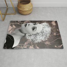 Audrey in White Rug