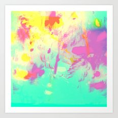abstract 001. Art Print