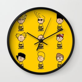 Toupeé-nuts Wall Clock