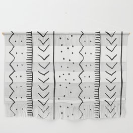 Moroccan Stripe in Cream and Black Wall Hanging