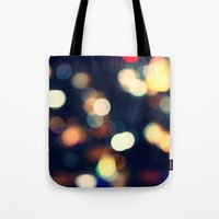 lights Tote Bags featuring Lights  by sasan p