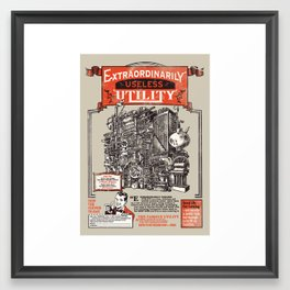 Extraordinarily Useless Utility Framed Art Print