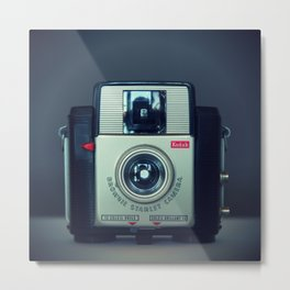 Brownie Starlet Camera Metal Print