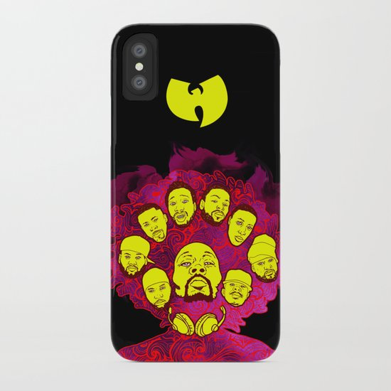 Wu-Tang Purple Haze iPhone Case