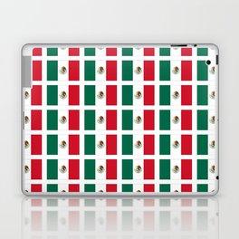 Flag of mexico 2- mexico,mexico city,mexicano,mexicana,latine,peso,spain,Guadalajara,Monterrey Laptop & iPad Skin