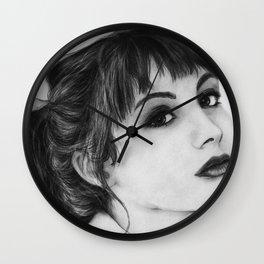 Miss Ditsy (Hannah Marks) Wall Clock