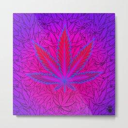 Cannabism Metal Print
