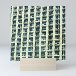 Tel Aviv - Crown plaza hotel Pattern Mini Art Print