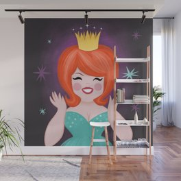 Red Haired Princesses Sparkle With Sunshine Wall Mural