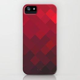 Red Impulse iPhone Case