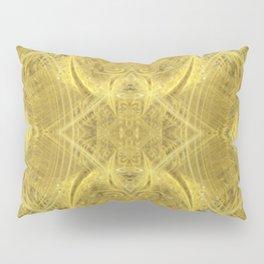 Galactic Light Bulbs of Creation - gold sphere circle geometric pattern Pillow Sham