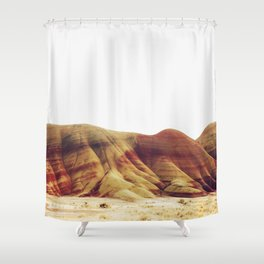 Oregon Painted Hills Shower Curtain