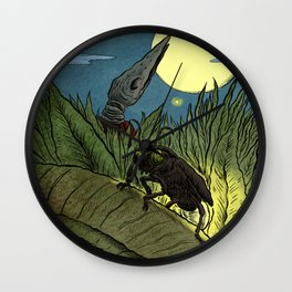 Gnobo and the Firefly Wall Clock