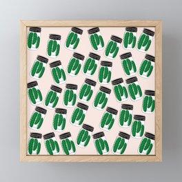 Pickles Jar Framed Mini Art Print