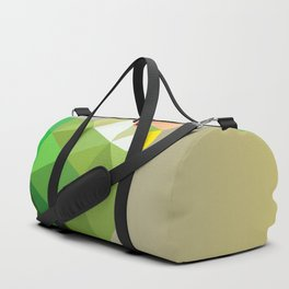 RED CRESTED TURACO LOW POLY ART Duffle Bag