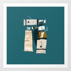 The Painter's House Art Print