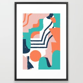 Smotth Senses Framed Art Print