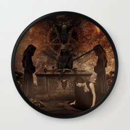 The Lord of Death Wall Clock