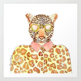Killer Shades Art Print