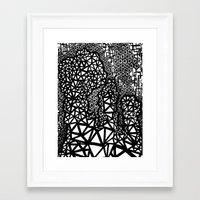big bang Framed Art Prints featuring Big Bang by Cori Hills