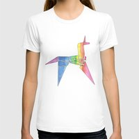 blade runner T-shirts featuring Origami Unicorn - Blade Runner by NorthLight
