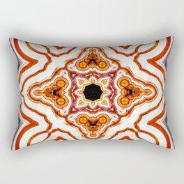 India Print Rectangular Pillow