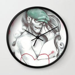 Imperfect Love Wall Clock