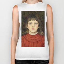 "Evelyn De Morgan ""Portrait of Winifred Julia Spencer Stanhope"" Biker Tank"