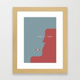 Revenge of Right Framed Art Print