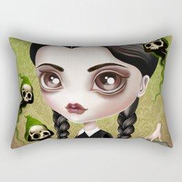 Be Afraid Rectangular Pillow
