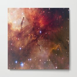 picture of star by hubble : westerlund Metal Print