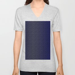 Binary Blue Unisex V-Neck