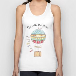 Go with the flow Unisex Tank Top