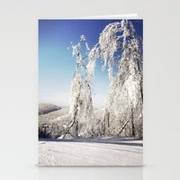 ski Stationery Cards featuring Ski  by David Nadeau