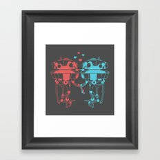 Probe Droid Lovin' Framed Art Print