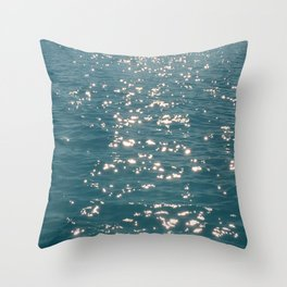 More Diamond sea Throw Pillow