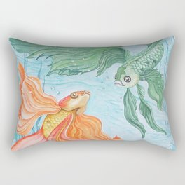 Betta Dance Rectangular Pillow