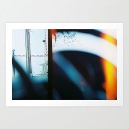 End of Film Roll Art Print