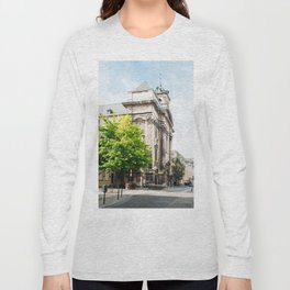 old street in Brussels Long Sleeve T-shirt