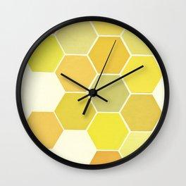 Shades of Yellow Wall Clock