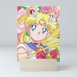 Sailor Moon 90's Crystal Mini Art Print