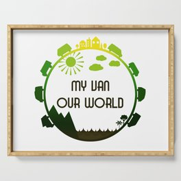 My Van Our World - Forest Serving Tray